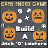 Build a Jack-O-Lantern Game: Open-end Game (for classroom