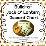 Build-a-Jack O'Lantern Reward Chart for ELL and Special Education