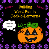 Build a Jack-o-Lantern (Word Family Literacy Center + 2 Activities)