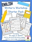 Build a Journal: Writing Workshop Binder (English)