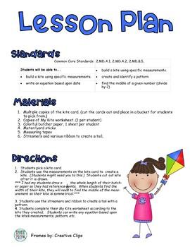Build a Kite: A Common Core Aligned Measurement Activity