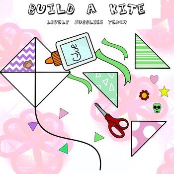 Build a Kite Clip Art