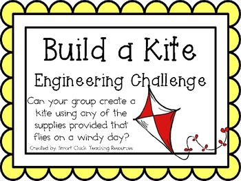Build a Kite: Engineering Challenge Project ~ Great STEM Activity!
