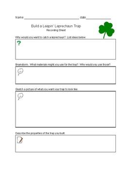Build a Leapin' Leprechaun Trap