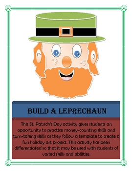 Build a Leprechaun Coin-Counting Activity