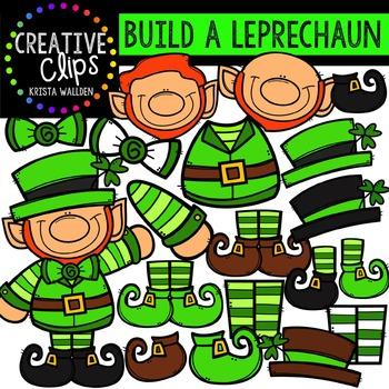 Build a Leprechaun {Creative Clips Digital Clipart}