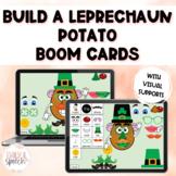 Build a Leprechaun Potato FREEBIE Boom Cards | Sentence St