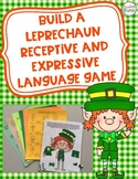 Build a Leprechaun Receptive and Expressive Language Game
