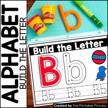 Build a Letter | Perfect for Mini Eraser {Alphabet Activities}