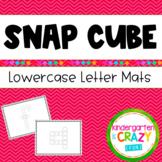 Build-a-Letter Fine Motor Lowercase Alphabet Snap Cubes Li