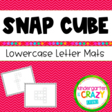 Build-a-Letter Fine Motor Lowercase Alphabet Snap Cubes Literacy Station