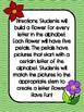 Build a Letter Flower Activity