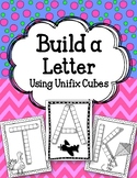 Build a Letter! Linking Cubes. ABCs. Alphabet. Interlocking Counting Cubes