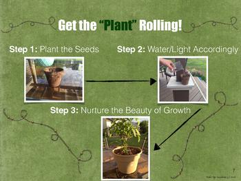 Build a Literary Garden - The Green Edition