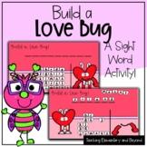 "Build a Love Bug: Mystery Sight Word ""Hangman"" Twist Game"