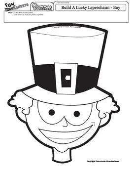 St Patrick's Day: Build a Leprechaun Boy