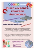 Build a Magnet-powered Automobile STEAM challenge