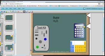 Build a Molecular Compound SmartBoard Lesson