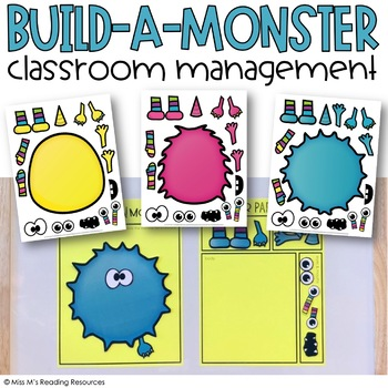 Build-a-Monster Classroom Management