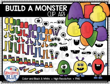 Build a Monster Clipart