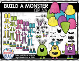 Build a Monster Clipart Bundle