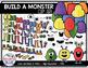 Build a Monster Clipart Bundle