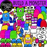 Build a Monster Clipart {Creative Clips Clipart}