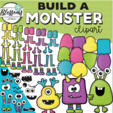 Build a Monster Clipart Set