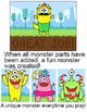 Build a Monster  - Interactive Whiteboard  whole class game for any subject