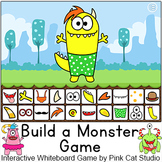 Build a Monster  - Interactive Whiteboard  whole class gam