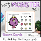 Build a Monster Money Activity Distance Learning | Boom Cards™