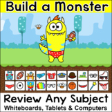 Build a Monster Review Game for any Subject and Grade