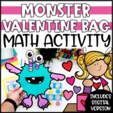 Build a Monster Valentine Bag - A Valentines Math Activity