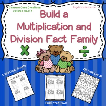 Multiplication: Build Multiplication and Division Fact Families