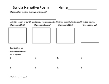 Build a Narrative Poem