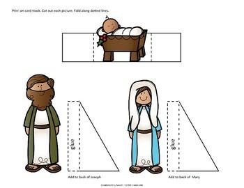 Build a Nativity - Basic Set (Christmas Craft)