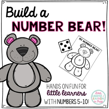 Build a Number Bear! Numbers 5-10