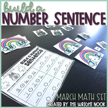 Build a Number Sentence (March Set)