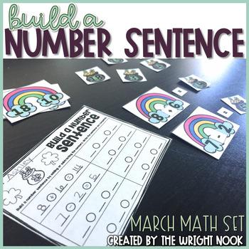 Build a Number Sentence (March Set)