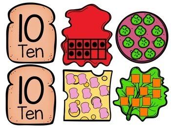 Build a Number Sandwich