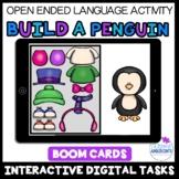 Build a PENGUIN - Winter Open Ended Game- BOOM Digital Task Cards