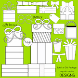 Build a Package - Designer Digital Clip Art Elements