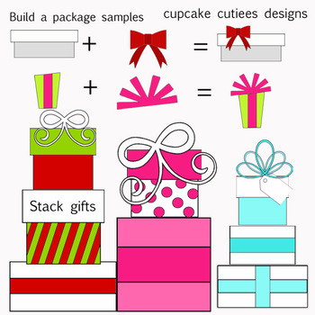 Build a Package - Designer Digital Clip Art Elements
