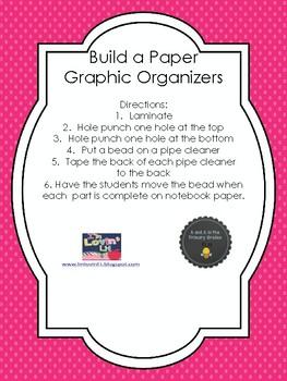 Build a Paper (Interactive Graphic Organizer)