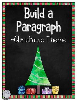 Build a Paragraph Christmas Theme