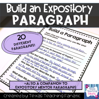 Build a Paragraph: Expository
