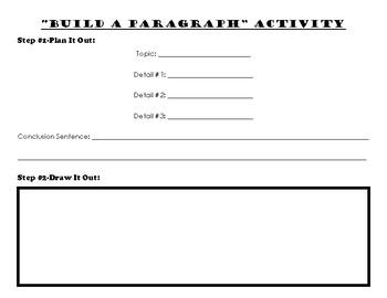 Build-a-Paragraph Writing Activity