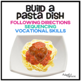 Build a Pasta Dish Following Directions