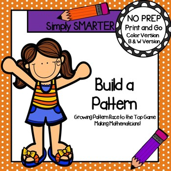 Build a Pattern:  NO PREP Growing Pattern Race to the Top Game