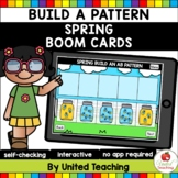 Build a Pattern (Spring) Boom Cards (Distance Learning)
